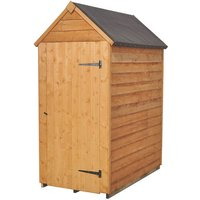 Forest Forest 3x5ft Apex Overlap Dipped Shed (Assembled)