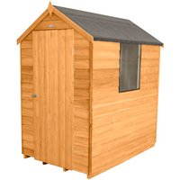 Forest Forest 4x6 Apex Overlap Dipped Shed (Assembled)