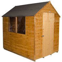 Click to view product details and reviews for Forest Forest 5x7ft Apex Overlap Dipped Shed Assembled.