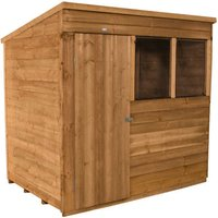 Click to view product details and reviews for Forest Forest 7x5ft Pent Overlap Dipped Shed Assembled.
