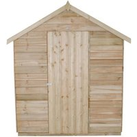 Click to view product details and reviews for Forest Forest 6x8ft Apex Overlap Pressure Treated Shed With Corrugated Roof Assembled.
