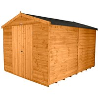 Click to view product details and reviews for Forest Forest 8x12ft Apex Overlap Dipped Shed Assembled.