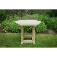 Forest Forest 3.6m Hexagonal Garden Gazebo Table