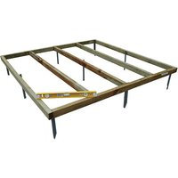 Forest Forest 5 x 3ft Shed Base (Assembled)