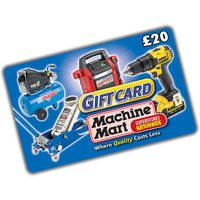 Machine Mart 20 Machine Mart Gift Card