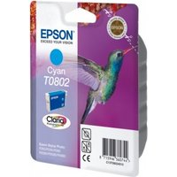 Epson T0802 Peach Compatible Cyan Ink Cartridge