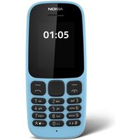 Nokia 105 Blue Mobile Phone