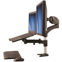 Startech Single Monitor Arm with Laptop Stand