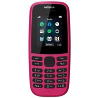 Nokia 105 Pink Mobile Phone