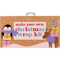 Make your own Christmas gift wrap box
