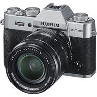 Fujifilm X-T30 Mirrorless Camera With XF 18-55mm Lens Kit Silver