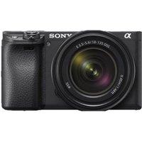 Sony a6400 With E PZ 16-50mm f/3.5-5.6 OSS Lens Kit Black