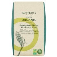 Waitrose Duchy Organic stoneground strong wholemeal bread flour