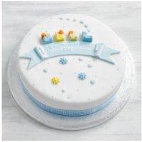 Fiona Cairns Toys Cake (Blue Train/ sponge)