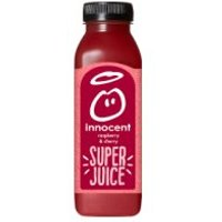 innocent super juice raspberry & cherry