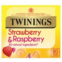 Twinings Tea Bags Strawberry & Raspberry 80s