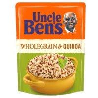 Uncle Ben's rice & grains wholegrain & quinoa