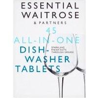 essential Waitrose 45 Dishwasher Tablets Original