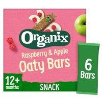 Organix Goodies Bars Raspberry & Apple