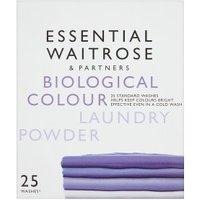 essential Waitrose Colourcare Laundry Powder 22 washes