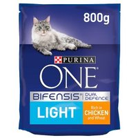 Purina ONE Light Dry Cat Food Chicken and Wheat