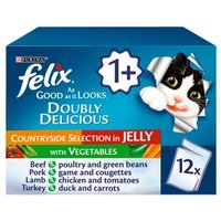 Felix As Good As It Looks Doubly Delicious Cat Food Countryside