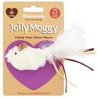 Jolly Moggy Catnip Tune Chaser Mouse