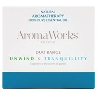 Aromaworks Duo Range Unwind & Tranquility
