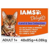 Iams Delights Cat Land & Sea Collection