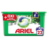 Ariel All in 1 Pods + Oxi Stain Remover 22s