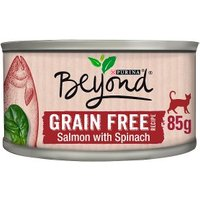 Beyond Grain Free Cat Food Salmon with Spinach