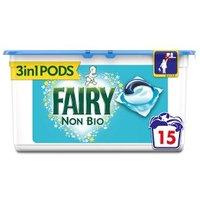 Fairy Non Bio Pods 15 washes