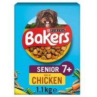 Bakers Senior Dry Dog Food Chicken & Vegetables