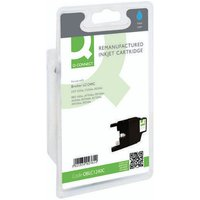 Click to view product details and reviews for Q Connect Brother Remanufactured Cyan Inkjet Cartridge Lc1240c.