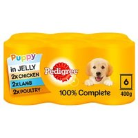 Pedigree Puppy in Jelly Selection