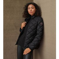 UGG Womens Selda Packable Quilted Jacket in Black, Size XS,