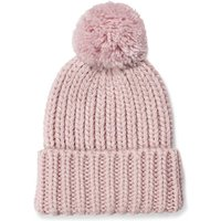 UGG Womens Chunky Wide Cuff Beanie Hat in Pink Crystal