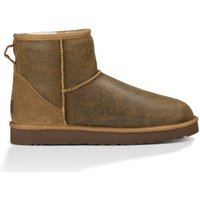 UGG Mens Classic Mini Bomber Boot in Jacket Chestnut, Size 11, Shearling