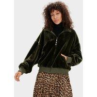 UGG Womens Laken Jacket in Olive, Size XS