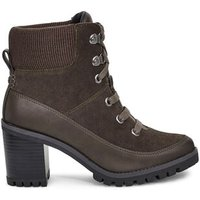 UGG Womens Redwood Boot in Black Olive, Size 8, Suede