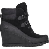 UGG Womens Valory Waterproof Boot in Black, Size 7, Suede