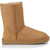 UGG Mens Classic Short Boot in Chestnut, Size 8, Leather/Shearling/Suede