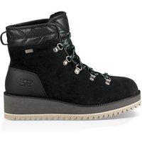 UGG Womens Birch Waterproof Snow Boot in Black, Size 7, Suede
