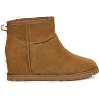 UGG Womens Classic Femme Mini Boot in Chestnut, Size 6, Suede