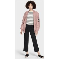 UGG Womens Frances Oversized Bomber Jacket in Pink Dawn,