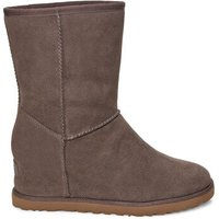 UGG Womens Classic Femme Short Boot in Slate Grey, Size 5, Suede