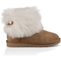 UGG Womens Valentina Boot in Chestnut, Size 6, Suede