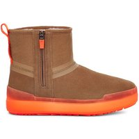 UGG Womens Classic Tech Mini Boot in Chestnut, Size 8, Suede