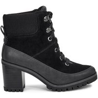 UGG Womens Redwood Boot in Black, Size 6, Suede