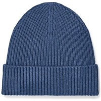 UGG Mens Wide Cuff Rib Hat in Pacific Blue